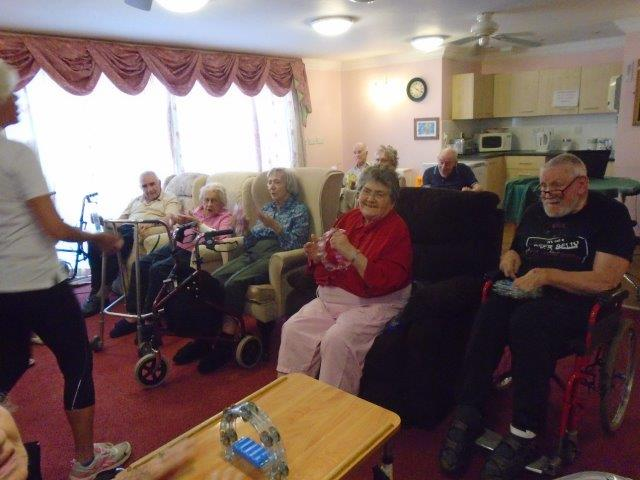 Extend exercise activity with Shelley at Dorrington House Wells!