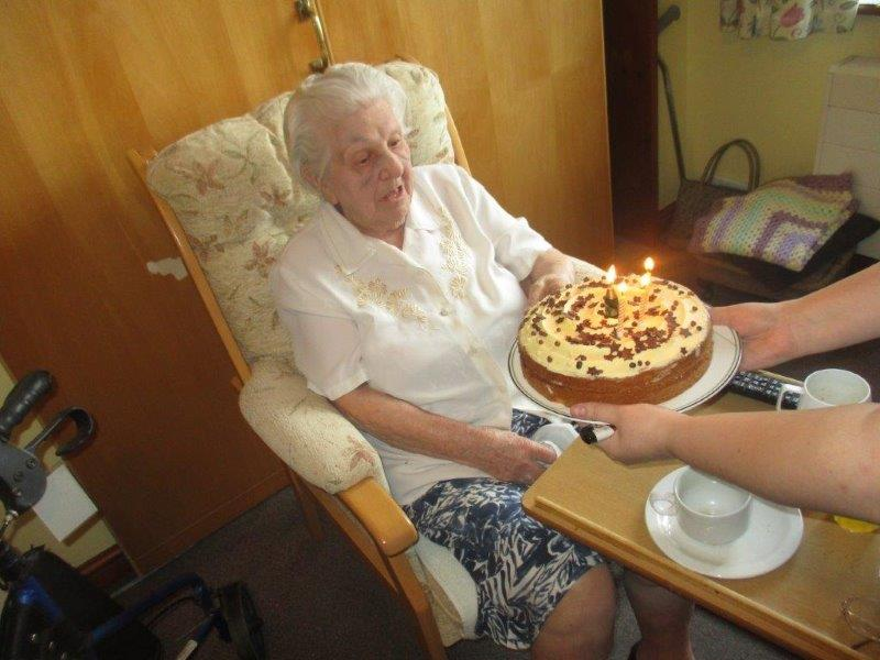 Happy 103rd birthday Sarah!