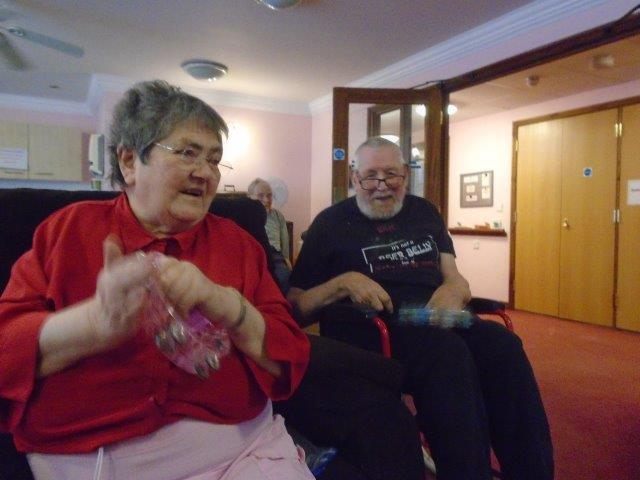 Susan and Eric at Dorrington House Wells!