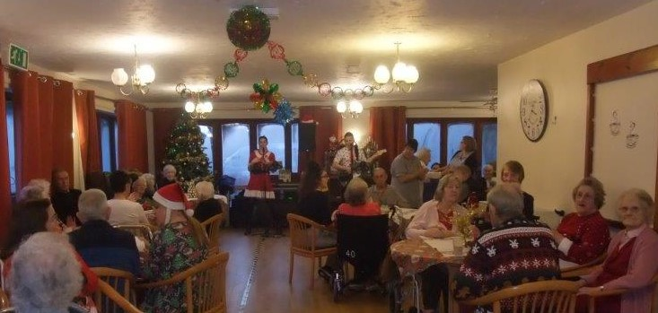 Dorrington House Dereham's residents & relatives christmas party, December 2018!