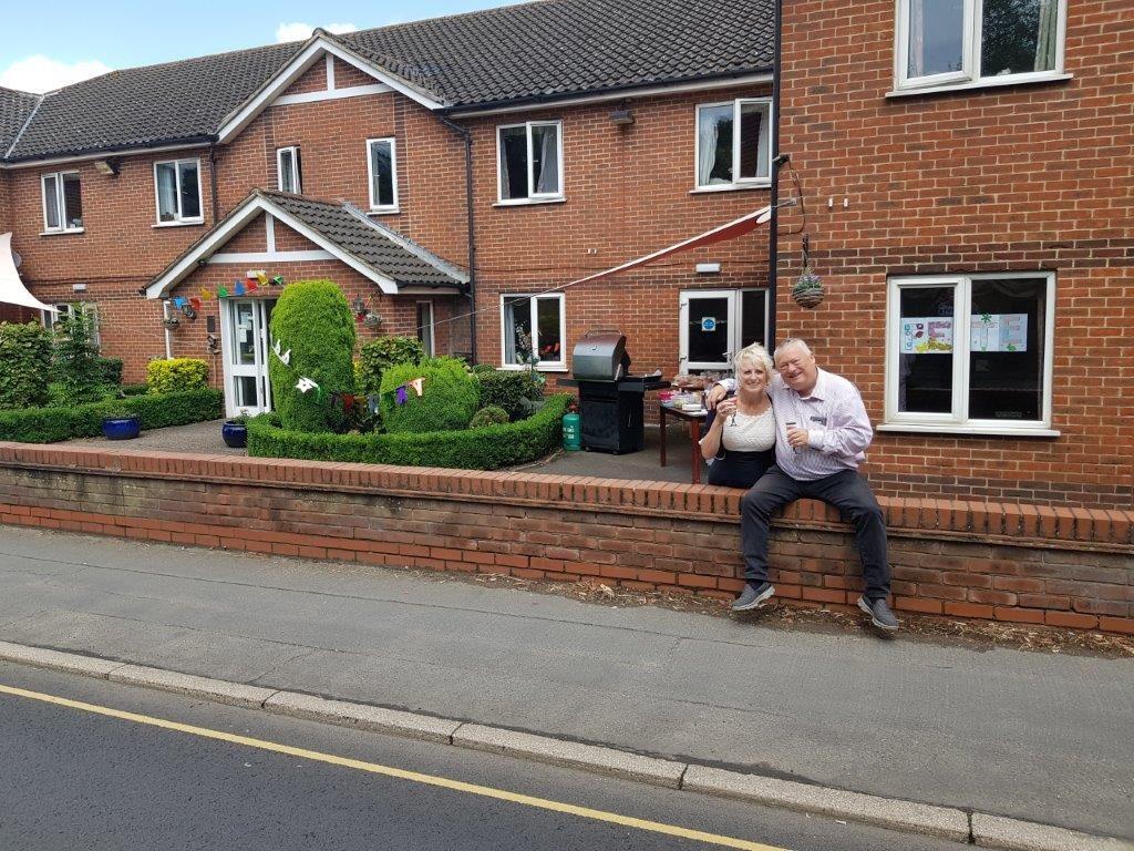Steve and Lorraine Dorrington celebrating Dorrington Houses 20th Birthday!
