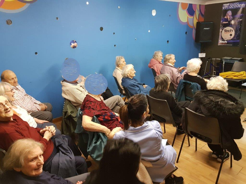 Our residents at JDTs music minds!